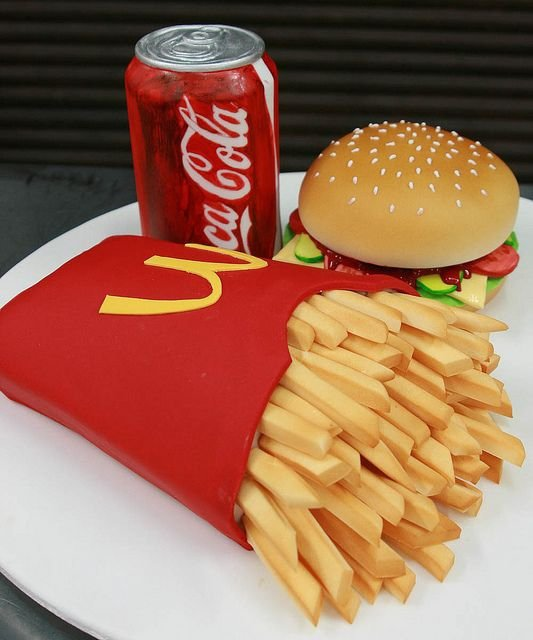 Fast Food Meal from Mcdonald's