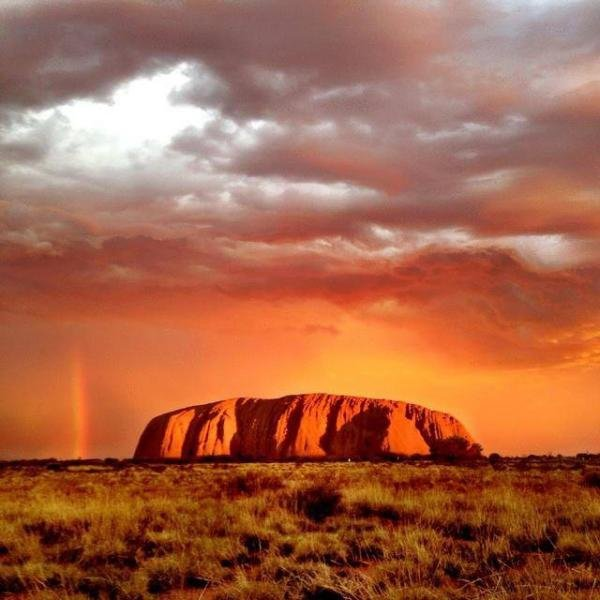 Hire a Camper Van and Drive from Alice Springs to Uluru, Australia