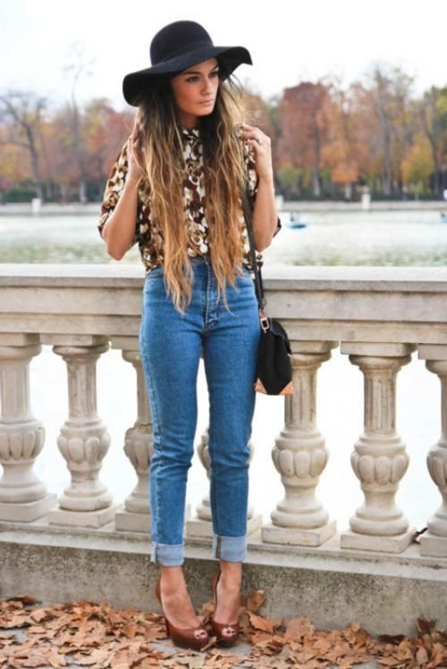 Floppy Hats - 7 Adorable High-waisted Outfits to Recreate ...