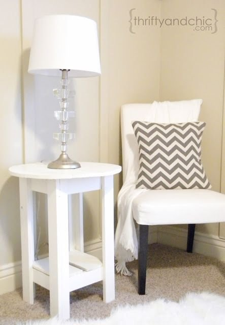 Small Nightstand make your own small nightstand - space saving nightstands for…