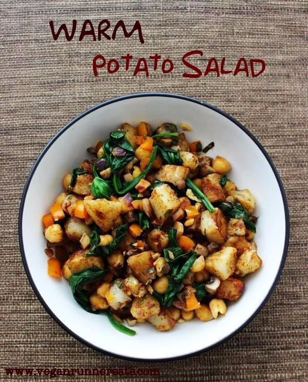 Warm Potato Salad with Spinach and Chickpeas - The Best Hot Salads ...
