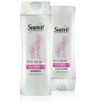 Suave Color Protection Shampoo and Conditioner for Colored Hair