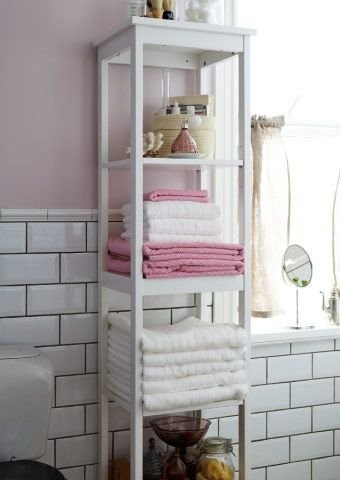 Tall Thin Shelves 48 Super Smart Bathroom Organization