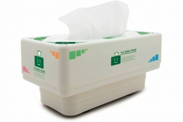Fetch a Tissue? No Way. Get a Remote Control Tissue Box