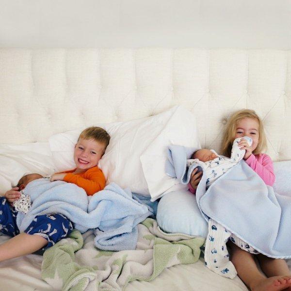 person, people, bedtime, child, sleep,