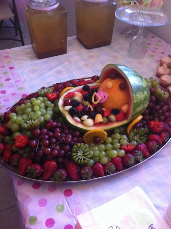 fruit baby 27 super cute baby shower decorations to make your