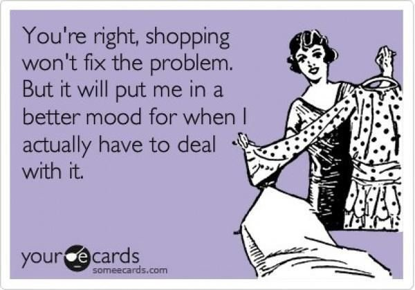 How Shopping Helps Solve Your Problems