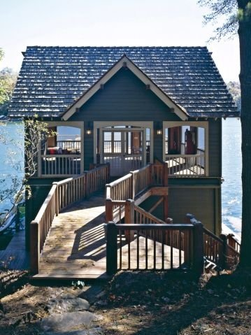 Tiny Cabin on a Lake
