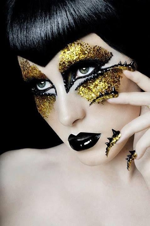 Eye Shapes Makeup: Beauty Or Art? Stunning Avant Garde