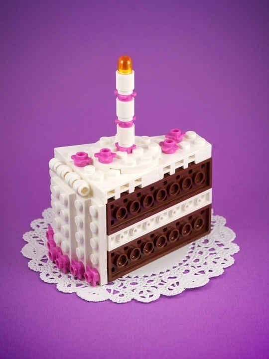 Birthday Cake  Awesome Lego Creations To Build With Your Kids - Lego birthday cake pictures