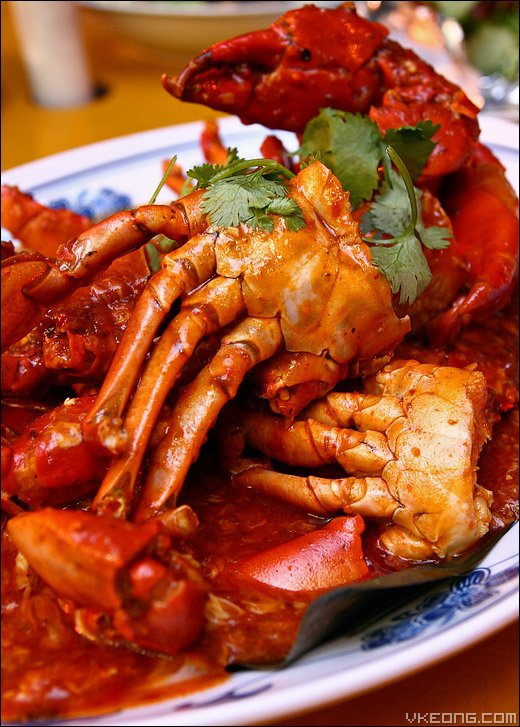 You simply cannot go to Singapore and not sample chili crab.