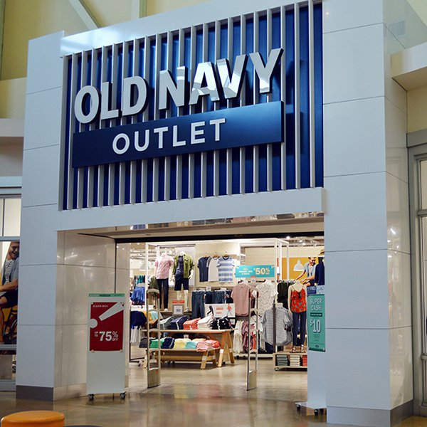 retail, outlet store, shopping mall, technology, signage,
