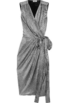 L'Agence Metallic Dress