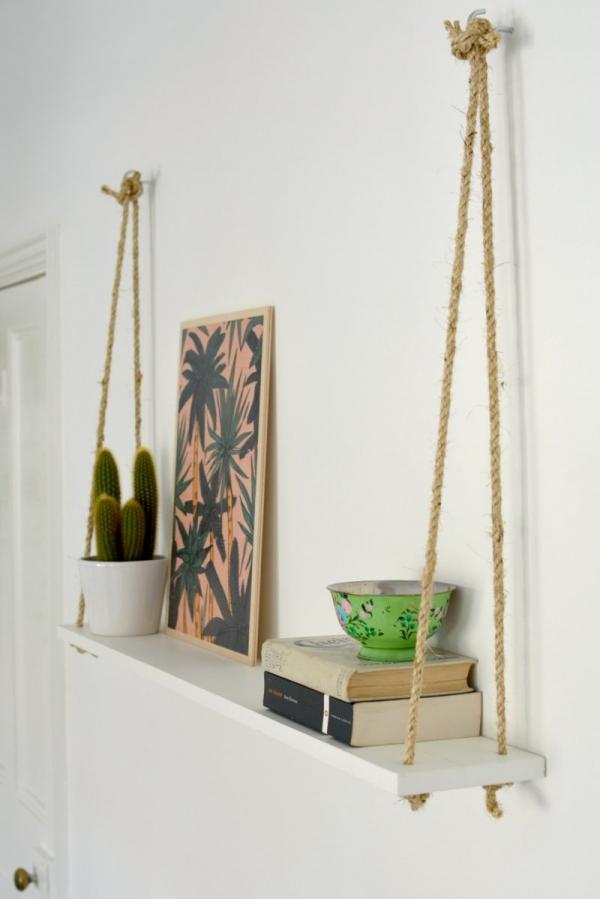 corde tag re shelfies les meilleur diy tag res. Black Bedroom Furniture Sets. Home Design Ideas