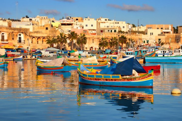 Marsaxlokk, vacation, sea, boating, waterway,