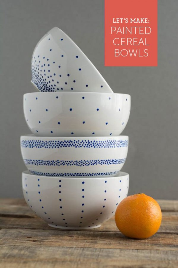 Paint a Set of Bowls