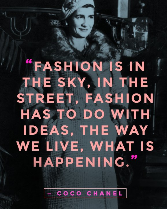 Fashion Book Cover Quote ~ Fashion is everywhere fabulous quotes from