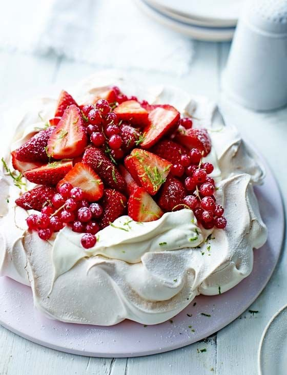 25. Strawberry Daiquiri Pavlova - These Pavlovas Are Perfect for…
