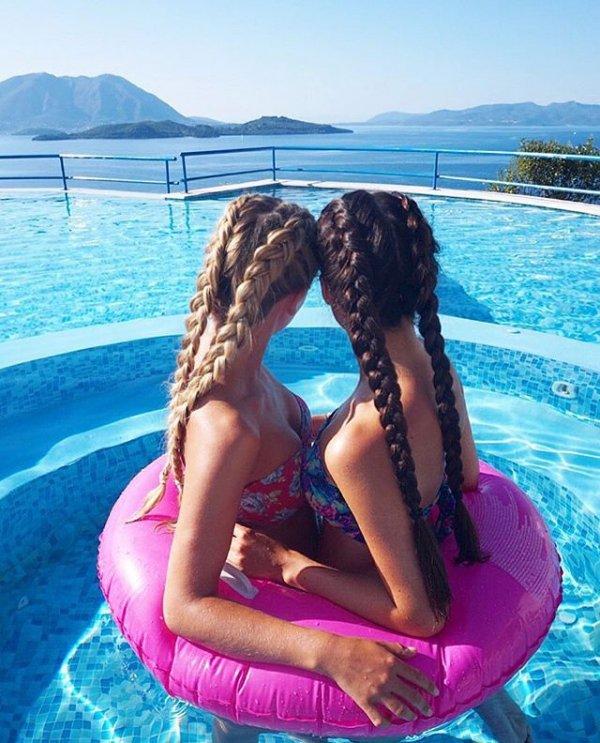 vacation, sea, swimming pool,