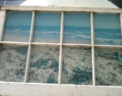 Faux Ocean View 31 Ways To Use Old Windows And Frames