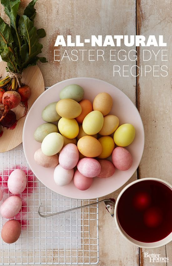All-natural Dye Recipe for Easter Eggs