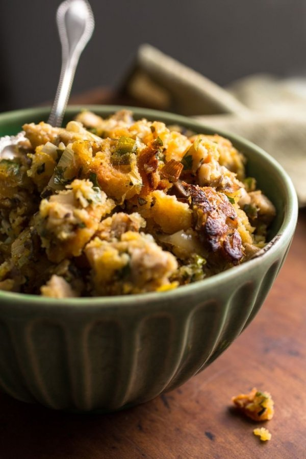 15. Two-Way Stuffing with Mushrooms and Bacon - 30 Special Stuffing…