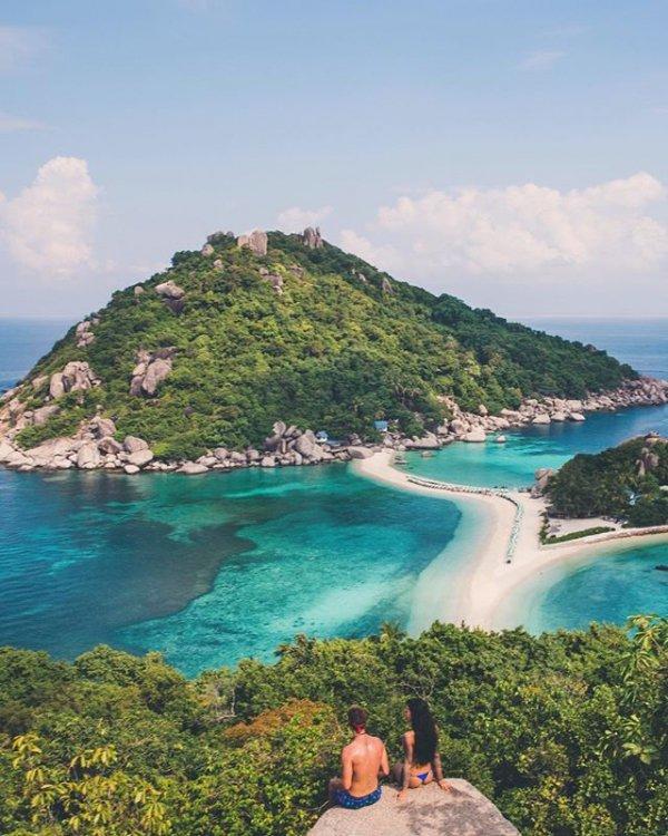 Ko Nang Yuan, vacation, sea, blue, bay,