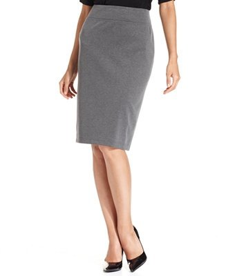 Tuck Your Blouse into a Pencil Skirt or Tailored Trousers