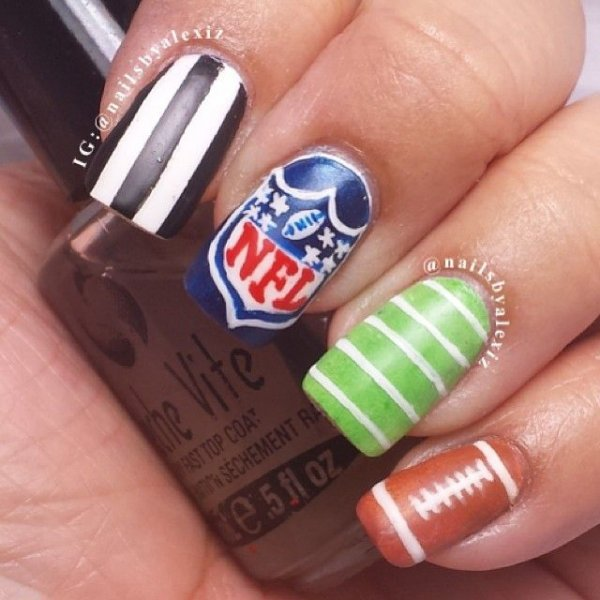 Nfl Nails