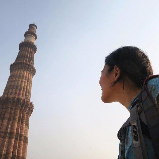 Qutb Complex, Qutub Minar, New Delhi railway station, Minar, Qutb Minar, blue,