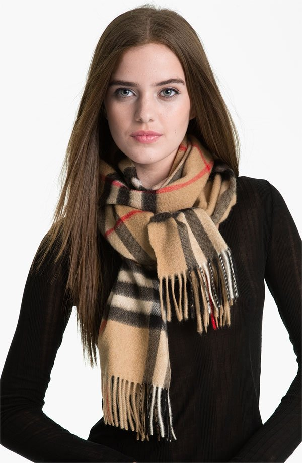 burberry scarf 7 clothing items every college wears to