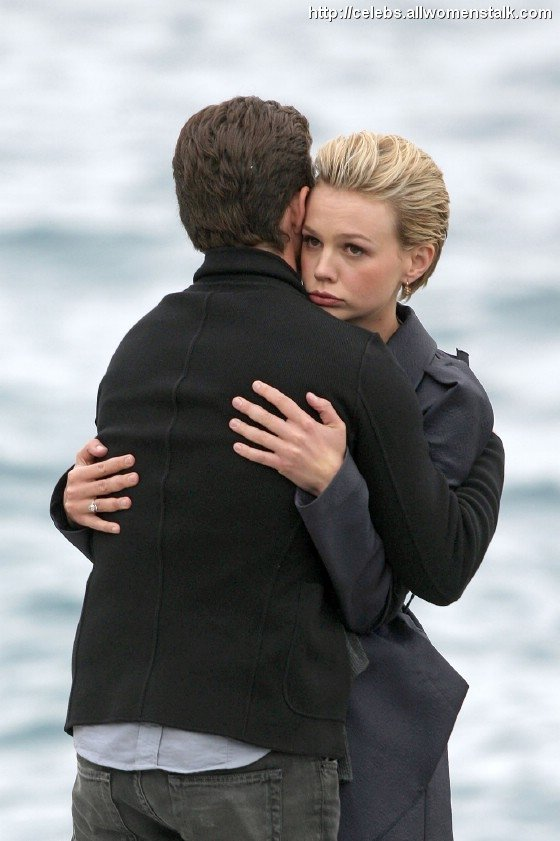 Photos Of Shia and Carey's tender moment