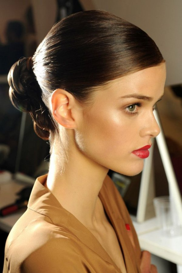 A Slicked Back Bun Sexy Hairstyles That Will Bring Out Your