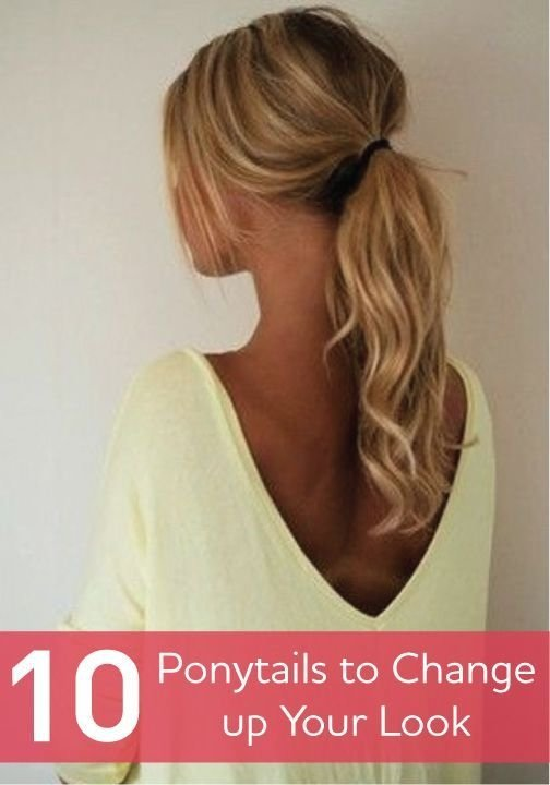 Curly Voluminous Ponytail 29 Ways To Spice Up Your