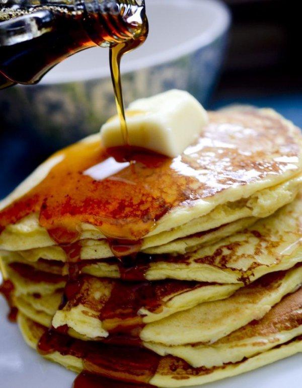 food, dish, meal, breakfast, pancake,
