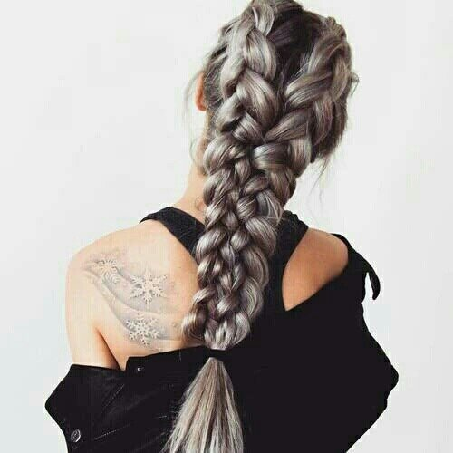 hair, hairstyle, braid, french braid, long hair,