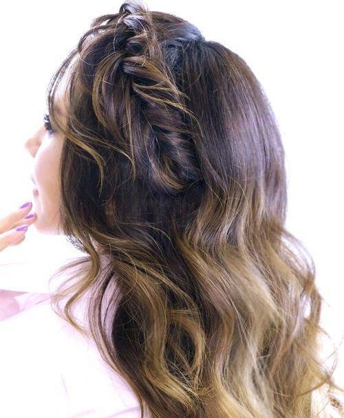 Faux Fishtail Headband Braid