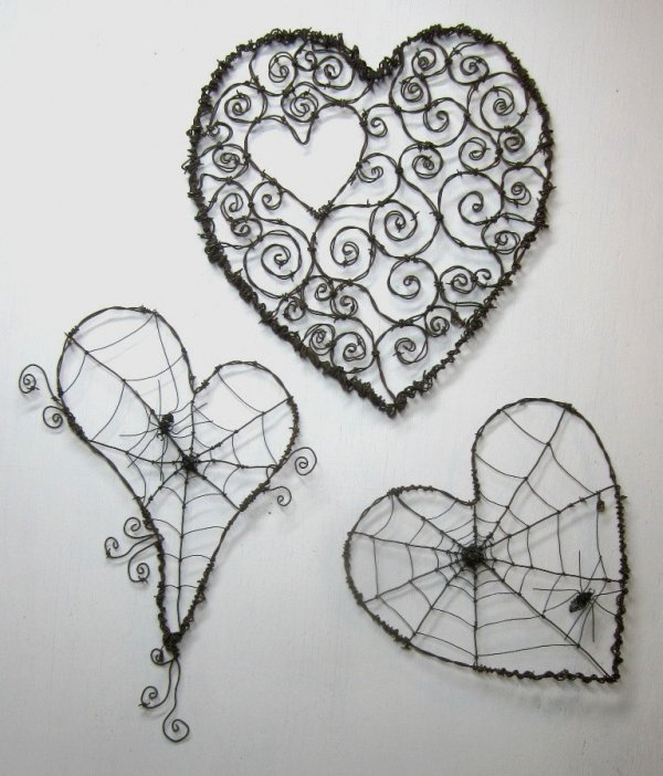Wire Hearts - 33 Awesome Wire Crafts to Make Cool Stuff ... …