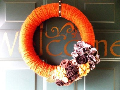 10 Beautiful DIY Thanksgiving Wreaths ...