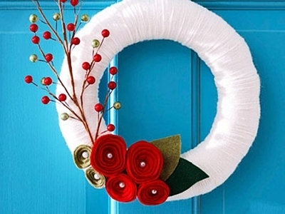 12 Beautiful DIY Holiday Wreaths ...