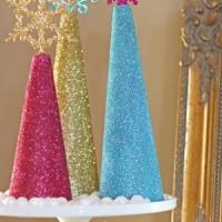 17 Marvelous DIY Mini Christmas Trees …