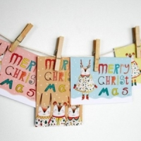 9 Darling DIY Holiday Greeting Card Holders ...
