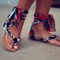 9 Sassy DIY Sandal Makeovers ...