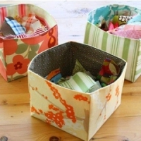 9 DIY Fabric Baskets for Keeping Your Home Beautifully Organized ...