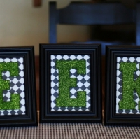 10 Wonderful Glittered Halloween Crafts ...