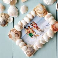37 Shell Crafts to do when Summer's over ...