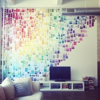 29 Crafty Things to do with Paint Chips ...