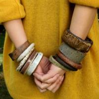 8 Simply Amazing Ways to Give Wooden Bangles a Crafty Makeover ...