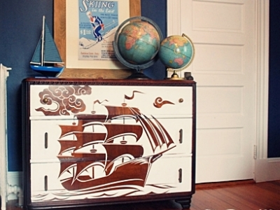 10 Delightfully Chic DIY Dresser Makeovers ...