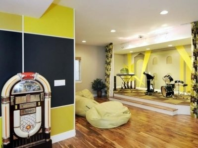 7 ways to brighten up your basement rec room diy